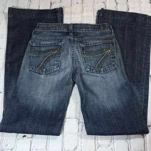 7 For All Mankind DoJo jeans size 24""